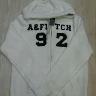 A&F白外套