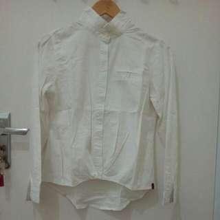 White Shirt Floral Print