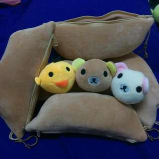 拉拉熊豆莢系列玩偶