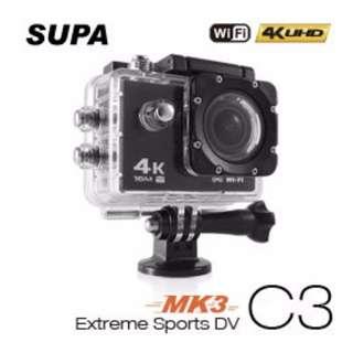 速霸 C3 三代-MK3 4K/1080P超高解析度 WiFi 極限運動機車防水型行車記錄器