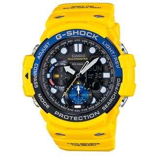 CASIO G-SHOCK GN-1000 series GULFMASTER GN-1000 黃色 GSHOCK GN1000