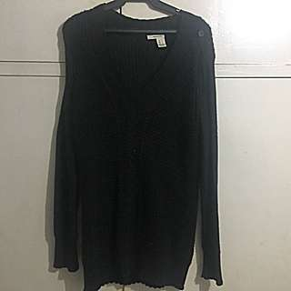 DKNY Cardigan Knitted Sweater