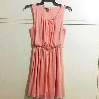 Forever21 Cream Sheer dress