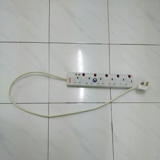 5 Slots Power Socket.