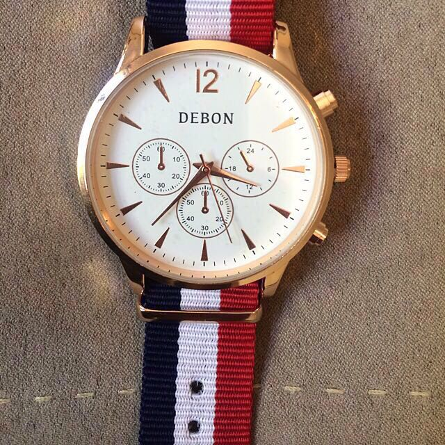 70% OFF ROSE GOLD TIMEPIECE BY DEBON