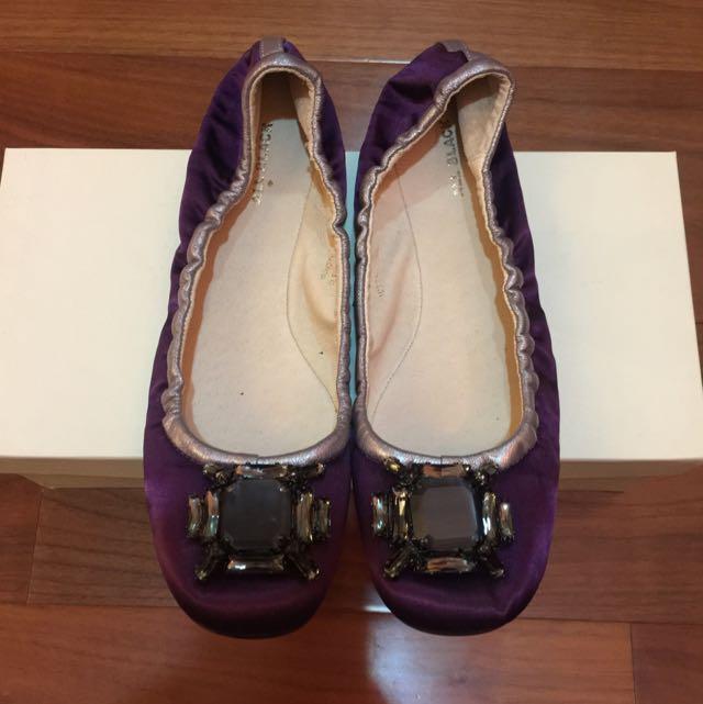 紫色娃娃鞋