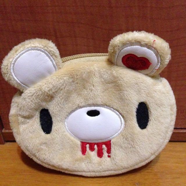 熊熊錢包/雙層多功能萬用包