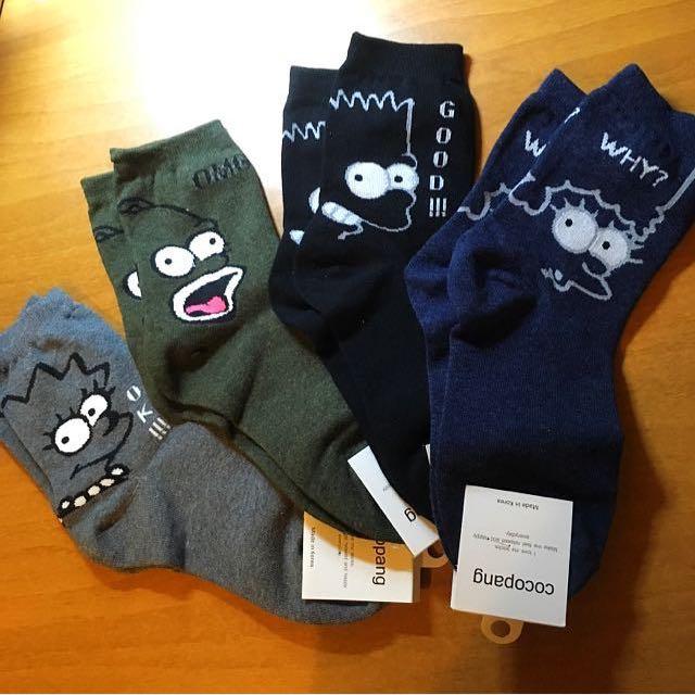 ✨獨家✨辛普森家庭襪襪福袋