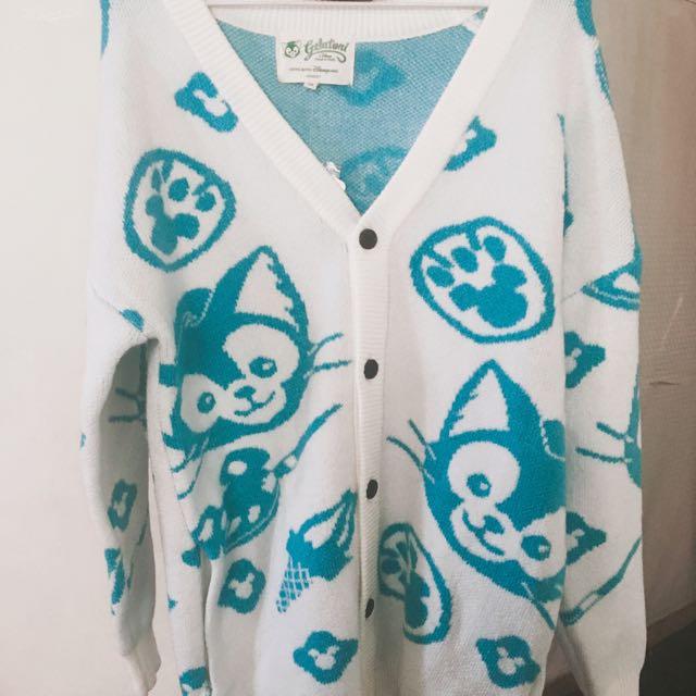 畫家貓 傑拉托尼 針織外套