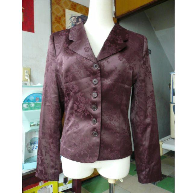 [全新] 中國風 復古風 印花 花紋 長袖外套 西裝外套 薄外套 韓國製造