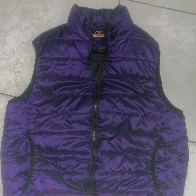 男 背心 紫色 L尺寸