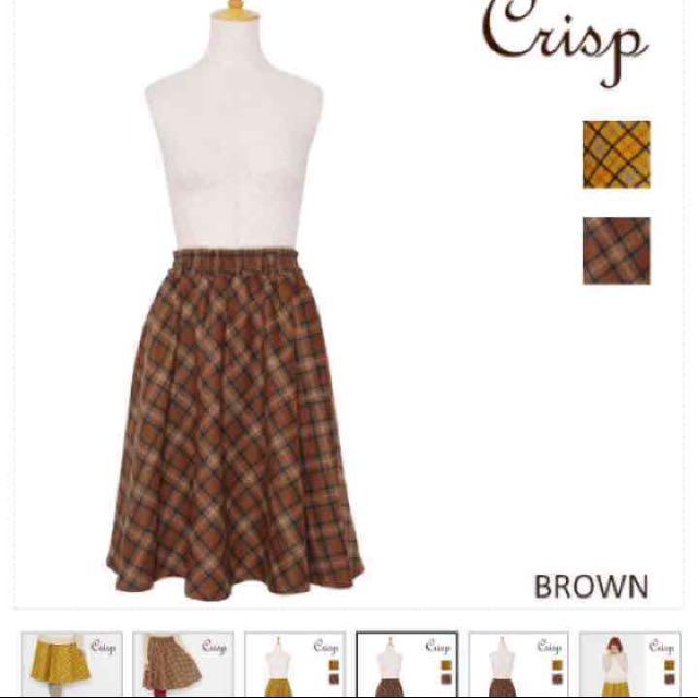 日牌 Crisp 格子裙