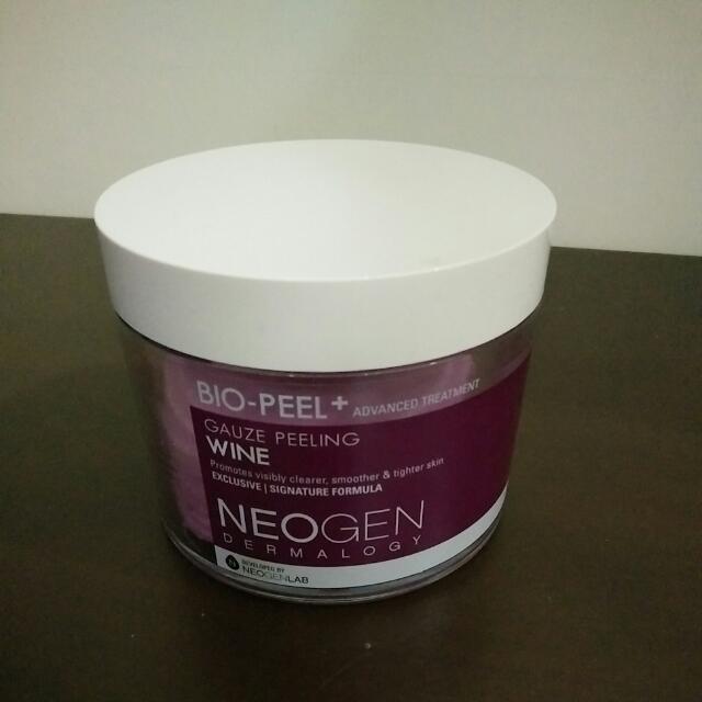 韓國 NEOGEN DERMALOGY 淨白高效導入擦拭面膜