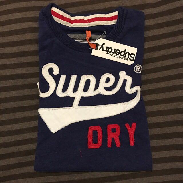 全新 Superdry 短T