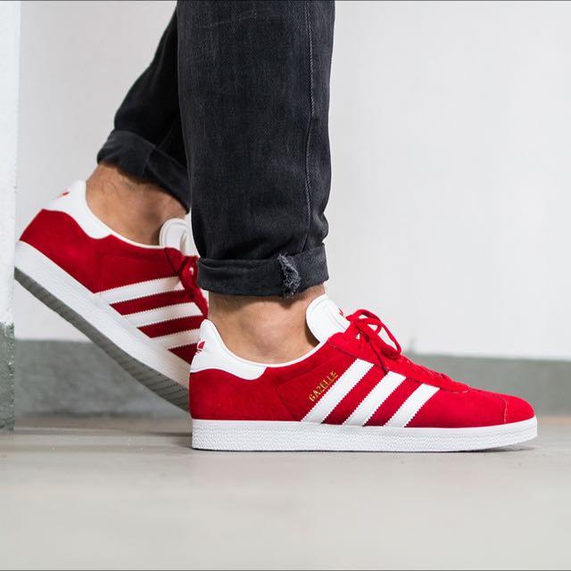 Adidas Gazelle - Scarlet Red, Men's