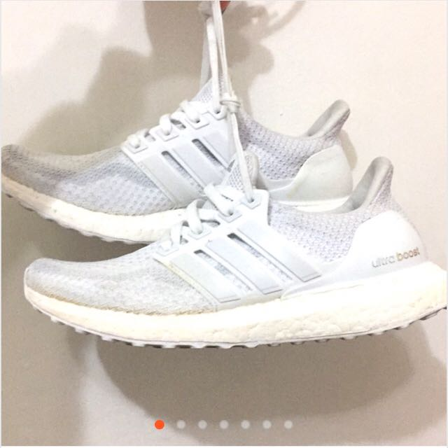 Adidas Ultra Boost 2.0 白
