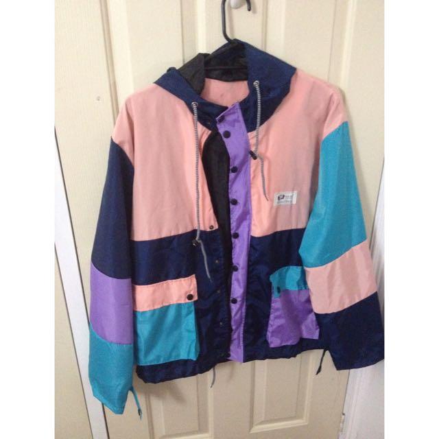 Adorable Vintage Colourful Jacket