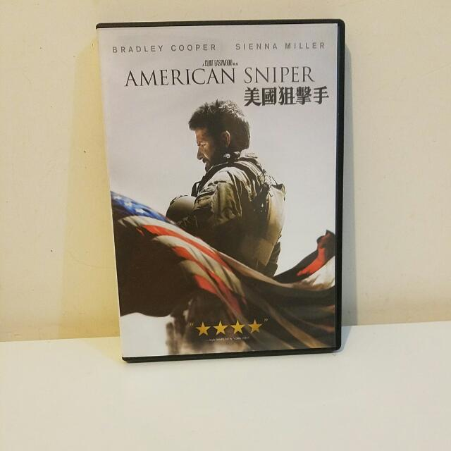 American Sniper DVD English And Chinese