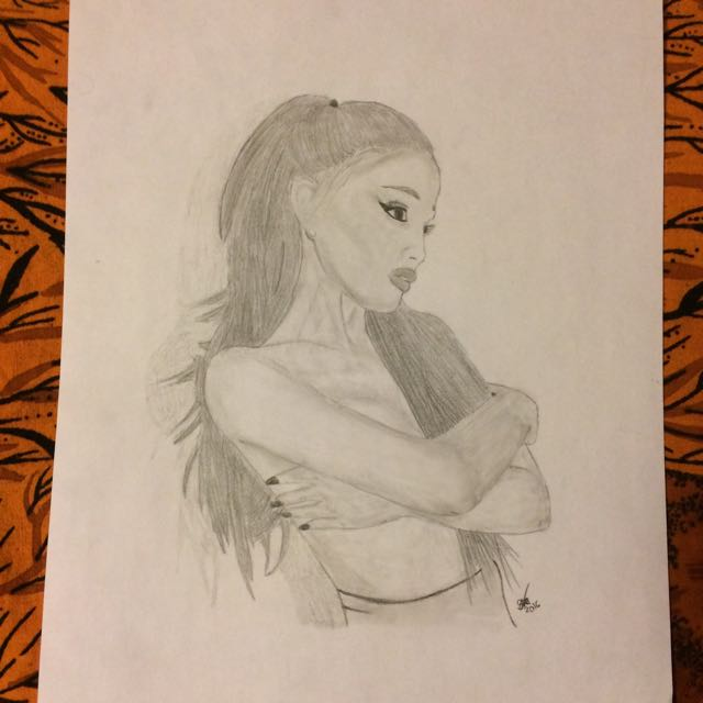 Arianna Grande Drawing