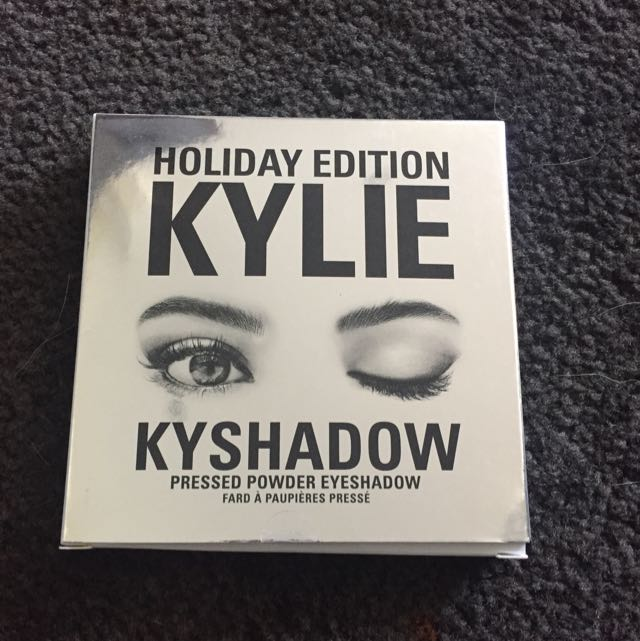 Authentic Brand New Kylie Kyshadow Holiday Edition