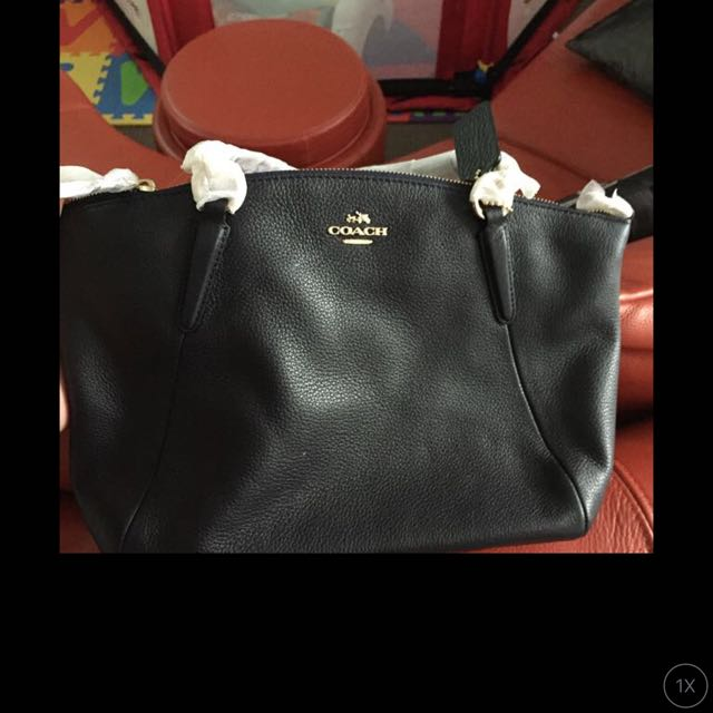 AUTHENTIC COACH BAG/midnight (small)