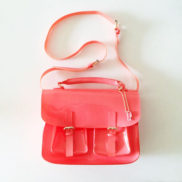 (Authentic) Lacoste Jelly Satchel