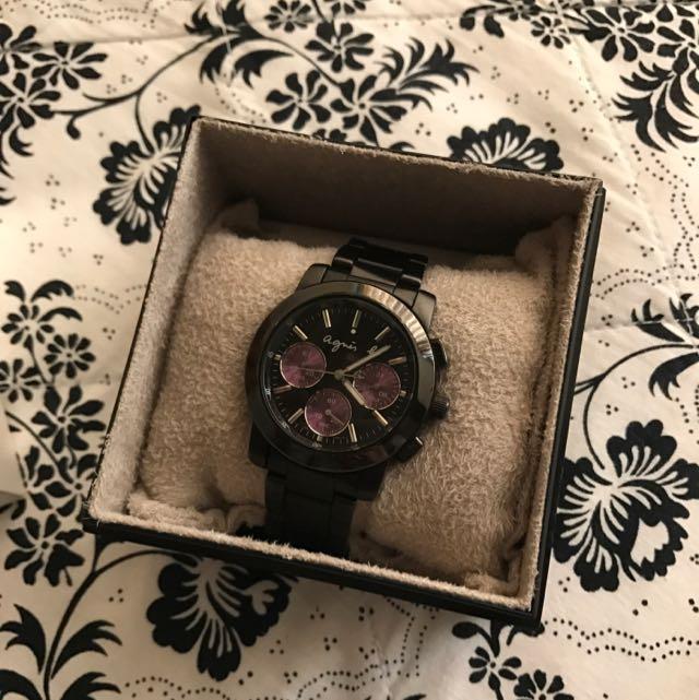 小b紫色三眼錶