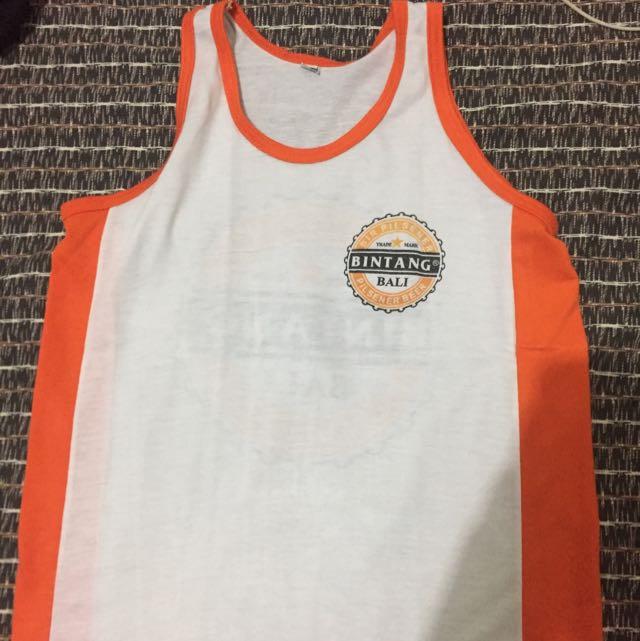 Baju Bintang Bali - Orange