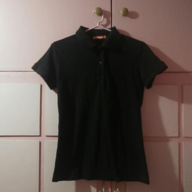 Baleno Black Polo Shirt