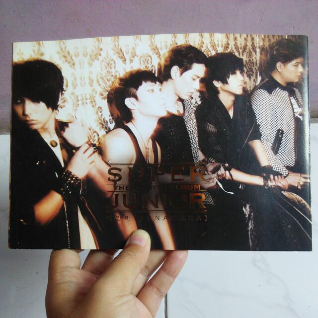 Banting Harga ! Super Junior Bonamana Album