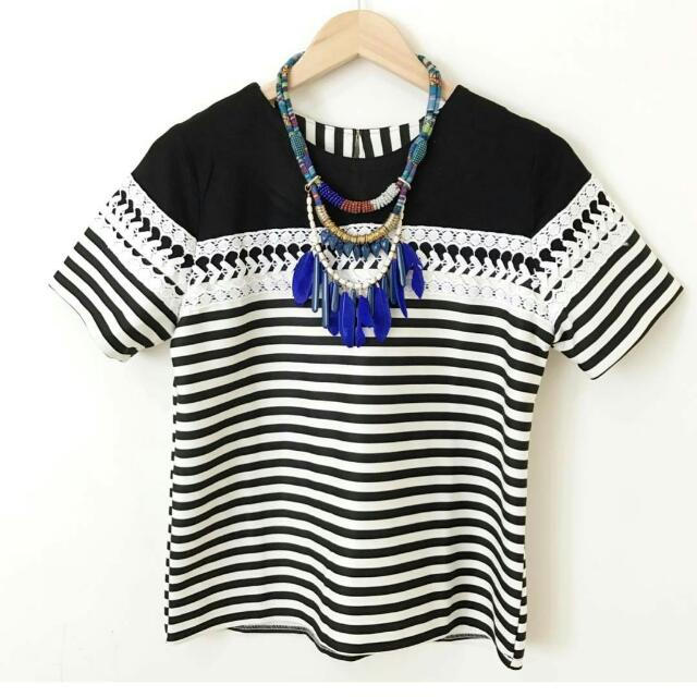 Blaster Lace Top