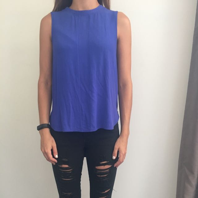Blue Finders Keepers Top