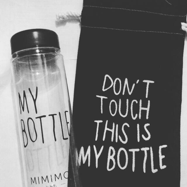 Botol Minum My Bottle With Pouch