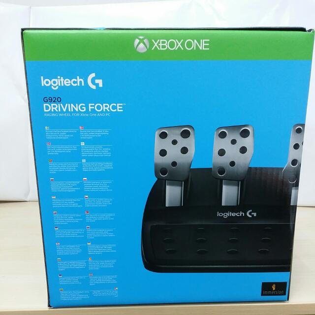 Brand New) Logitech G920 Driving Force For Xbox One And PC