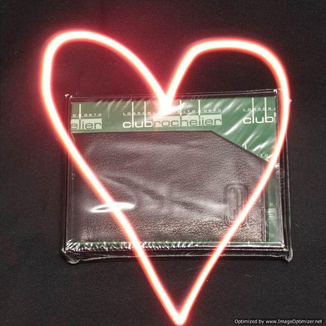 Club Rochelier Leather Wallet BNIB