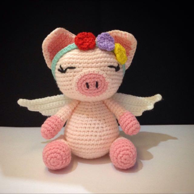 Amigurumi pig crochet plush free pattern – Free Amigurumi Patterns | 640x640