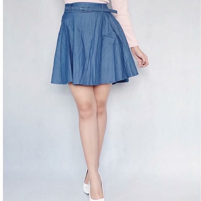 Denim Sweet Valley Skirt