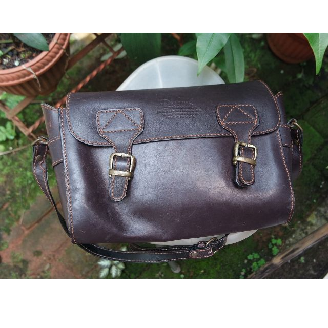 Dickens Leather Messenger Bag