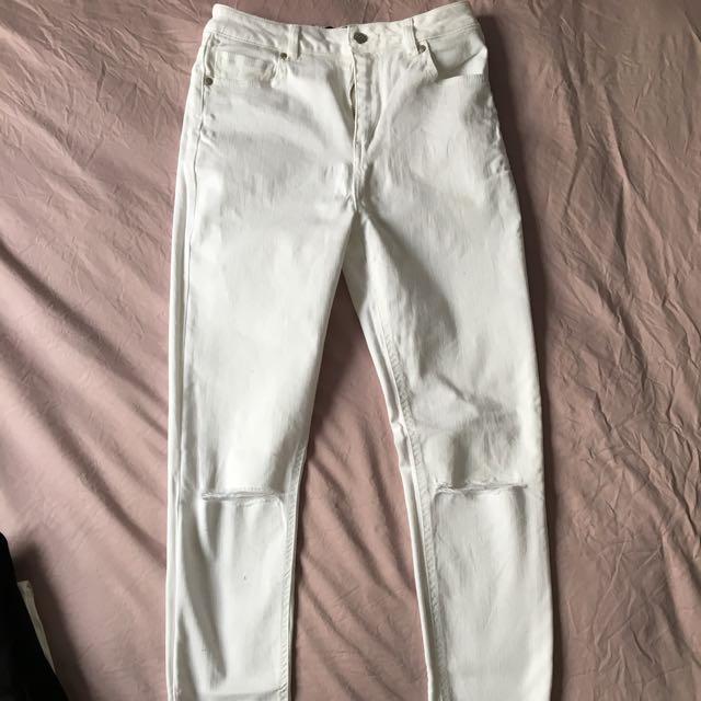 Dotti White Jeans