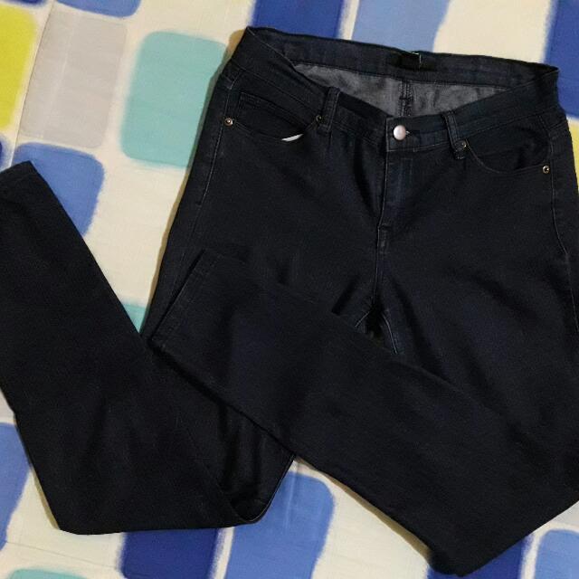 F21 Dark Blue Jeans