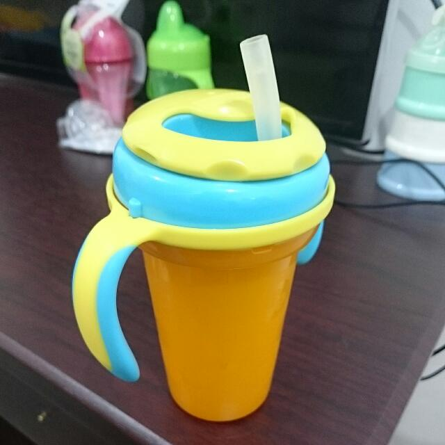 Fisher Price Straw Bottle