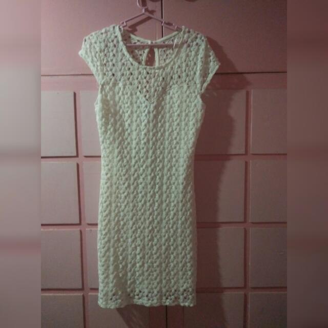 Forever 21 White Dress (Reserved)