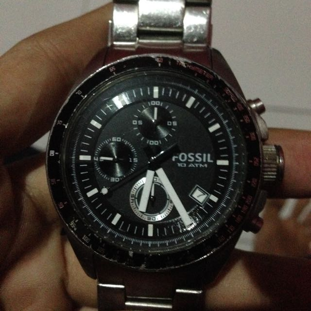 Fossil Chronograph Analog Black (CH2600)