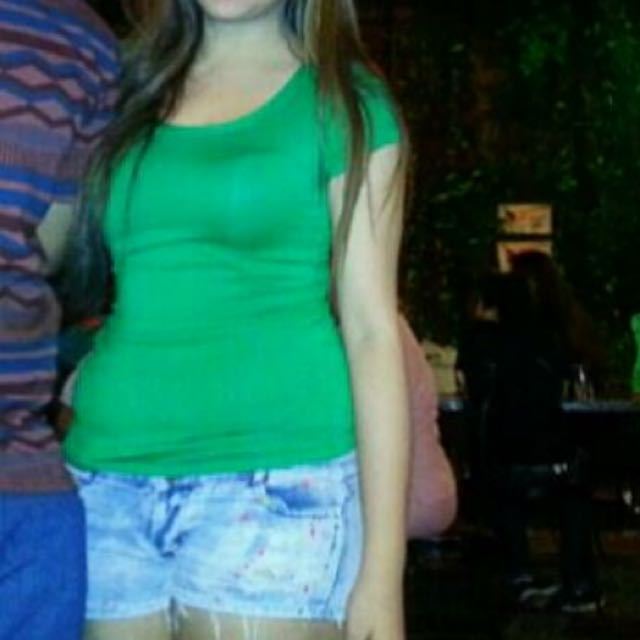 Green Fitting Top