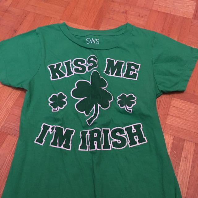 Green St.patrick's day shirt