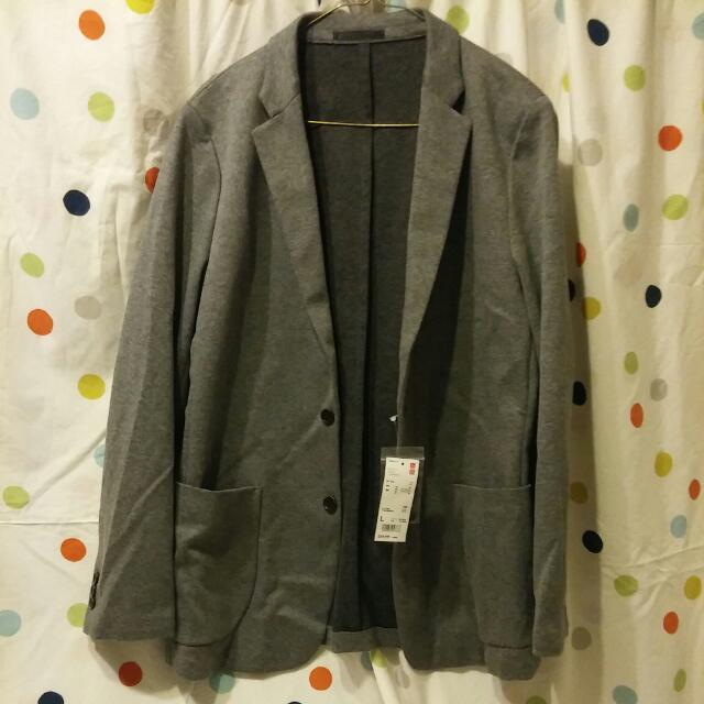 Grey Uniqlo Men's Blazer $60 O.B.O.