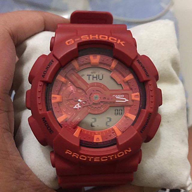 Gshock RED