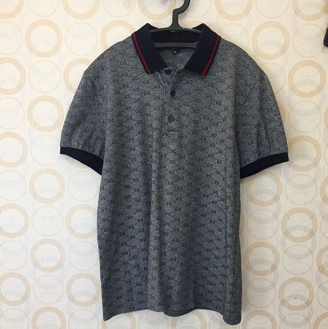 100% Authentic Gucci Polo T-Shirt
