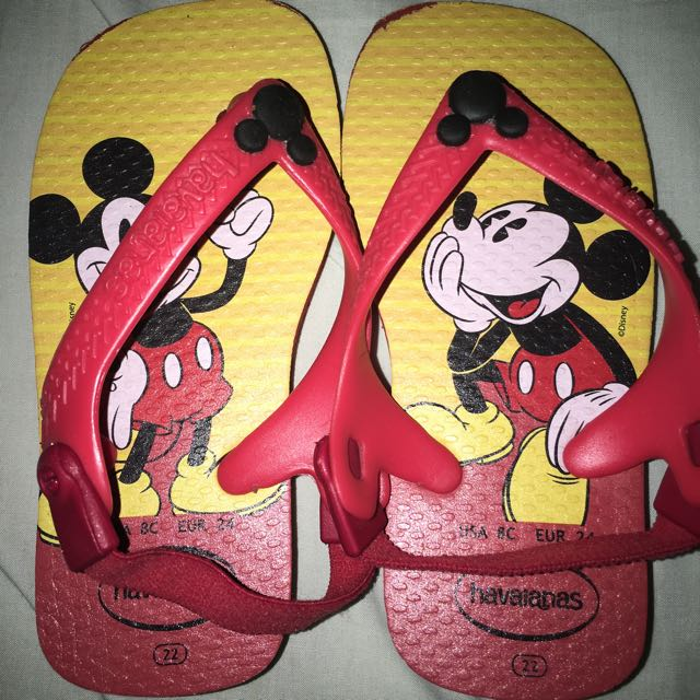 Havaianas Mickey Mouse Jandals