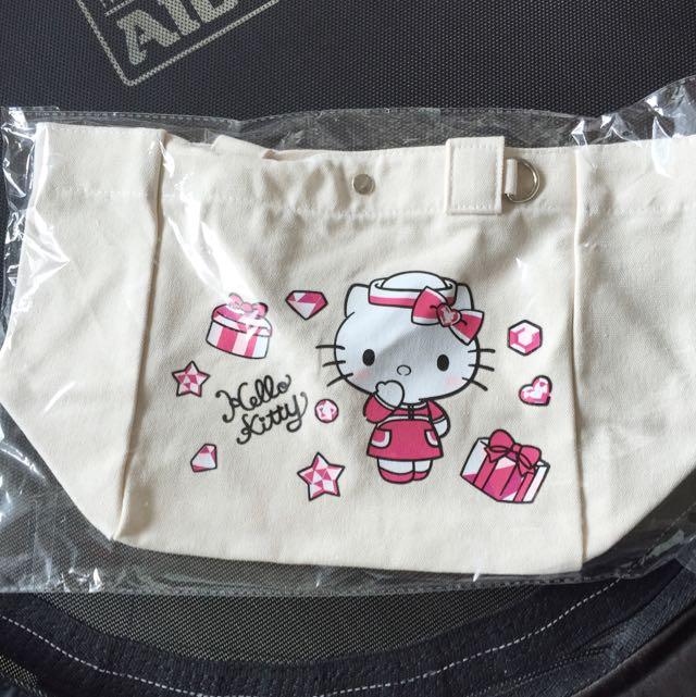 Hello Kitty 品味經典帆布提袋